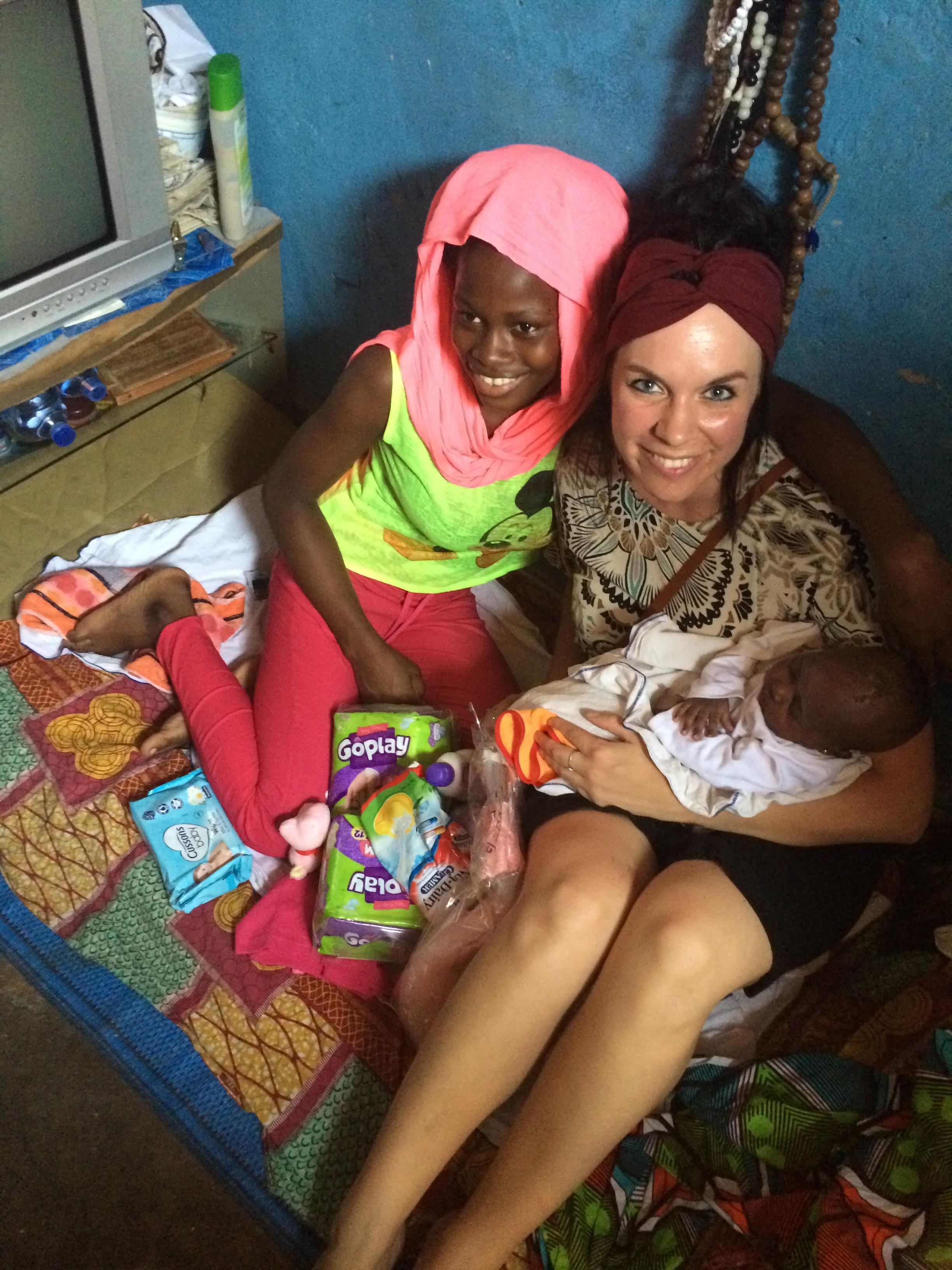 FOTO - mama Fati Karim en Ramatu Ghana